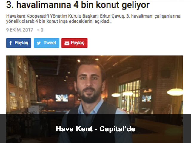 Hava Kent Capital'de